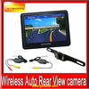2012 New design for Wireless camera 5 inch GPS navigation car rearview system