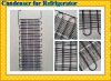 wire tube refrigerator condenser, refrigeration condenser, tube condenser, refrigeration parts