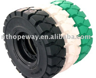 solid tire with rim