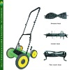 Multifuctional hand push lawn mower