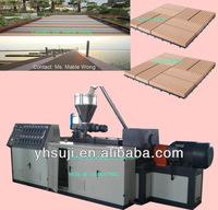 PE WPC Flooring Plastic Extrusion Line