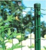 Euro welded wire fence