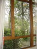 German Style Wood Window with Aluminum Cladding Window