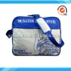 White PU games sport bag leisure bag