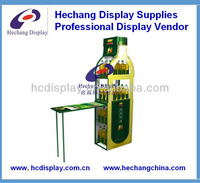 metal lubricant display stands (metal display rack/metal rack)