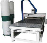CNC Woodworking Router Machinery with Vacuum Absorbing and Dust Collector