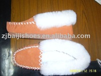 sheepskin winter slipper
