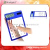 Mini Pocket pocketred solar calculator with touch screen red solar calculator with touch screen
