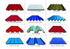 color steel corrugated roofing sheets