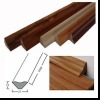 floor moulding made with MDF or solid wood