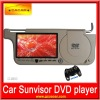 2012 new SONY Lens for car sun visor dvd player with 7'' LCD monitor / 32bit Games