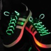 G1 Fiber Optic LED Shoe laces shoelaces neon led strong light flashing shoelace