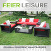 A6013SF Wicker Furniture Living Set Sofa Sets Furniture In