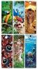 plastic PP animal 3D bookmarks for books