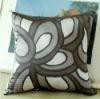 High quality printed silk cushion OEM