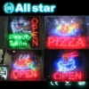 19''x10''x0.5'' and any size 85-265 VAC 3-5W cheap led shop sign
