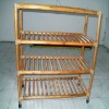 4 Tier bamboo shoe shelf