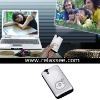 mini portable projector with built-in media player