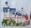 polyresin building,polyresin castle, 3D building Model