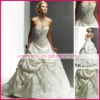 Exquisite  A-line/princess strapless neckline  taffeta elegant  wedding dress ms1416