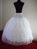White bridal Petticoat, bridal Underskirt,bridal slip DF6003