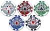11.5G ABS STICKER POKER CHIPS(C115STB)