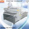 Dual-purpose CNC router used for rotary and flat engraving
