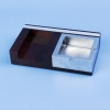 square zinc ashtray