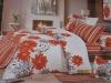 Mini-jacquard and printing bedding sets