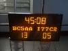 led football scoreboard with Team Name