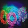 Four color flexible led rope light
