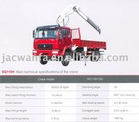 JAC 5T Cargo truck Crane