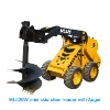 mini skid steer mini whel loader mini track loader with chinese bobcat trencher
