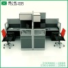 2012 new glass office partition for workstation