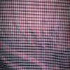 yarn dyed check memory fabric