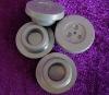 Teflon coated rubber stopper