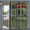 aluminum floding window with blinds W-AL60