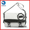 fashion newest design canvas shoulder bag men