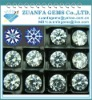 2mm star cut cubic zirconia cz gems loose gemstone