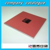 offset printing company catalogue customized