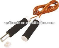 AB3012 leather jump rope with weight