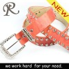 2012 High Quality Women PU Belt with Rhinestones