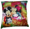 sublimation printed polyester cushion
