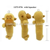 Funny Plush monkey with squeaker for big Dogs!