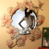 Q300-73Yulan magnolia Appearance Wall Decorative Mirror
