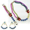 latest fashion pearl necklace set for women