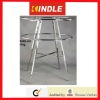 Adjustable Metal Apparel Display Stand with Casters/Levelers
