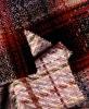 Woollen fabric for women's overcoating