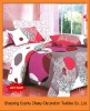 2011new 100%Polyester bedding sets home textile