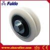 Nylon Hardware Sliding Window Roller, Plastic Door Roller
